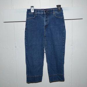 NYDJ Jeans - NYDJ womens capris size 4  -9798-high rise